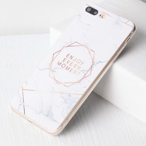 Accessories - $12 Marble Pattern With Letter IPhone 7 Plus Case